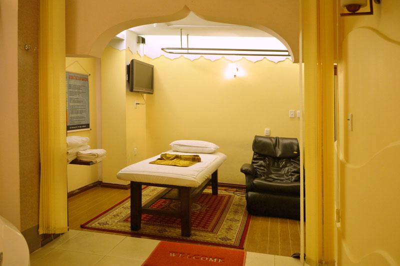 Phòng VIP Thái Lan dịch vụ massage Khách sạn Phú Thọ Quận 11