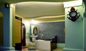 Bồn tám trong Phòng VIP Ai Cập dịch vụ massage khách sạn Phú Thọ quận 11