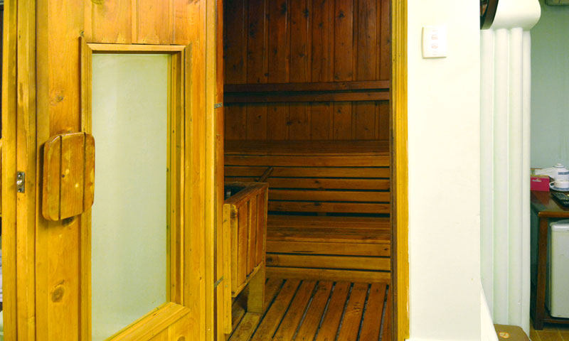 Buồng Sauna Phòng VIP Ai Cập dịch vụ massage khách sạn Phú Thọ quận 11